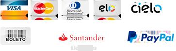 Cartão de Crédito - Boleto - PagSeguro