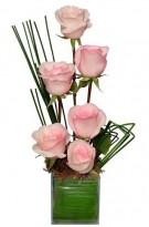 Ikebana  de Rosas Rosas