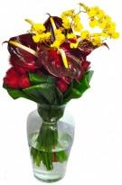 Arranjo Flores Finas Luxo