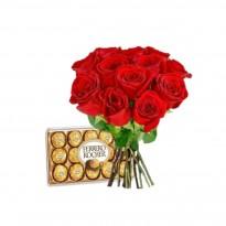 Red Simples com Ferrero Rocher
